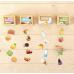 Обучающий набор «Сортер-копилка: продукты», по методике Монтессори