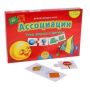 Развивающая игра Ассоциации. Учим цвета и формы