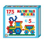 Мозаика магнитная шестигранная, 175 элементов