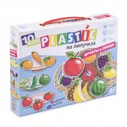 Пластик на липучках фрукты овощи
